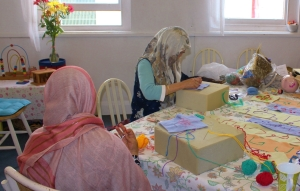 lullaby afghani women working